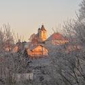Kostel Panny Marie v mrazivém objetí