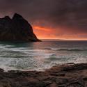 Kvalvika beach - Lofoten Islands - Norway
