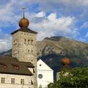 Stockalperův zámek v Brigu (CH)