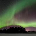 Polární záře - Švédsko