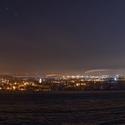 ČB v noci