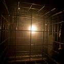 Klec na slepice - světelná expozice v rámci festivalu