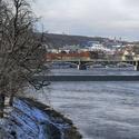 Z Hlávkova mostu...