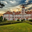 Podvečer na zámku Mnichovo Hradiště