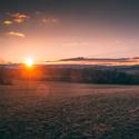 Západ slunce na Bučávce
