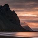 Pláž Vesturhorn - Island