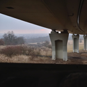 Pod mostem Chmelda u Chomutova