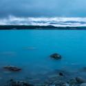 Tyrkysové jezero Pukaki