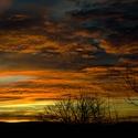 Večerní malůvky na obloze