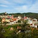 Pohled na Loket nad Ohří