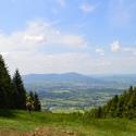 Pohled na Frenštát pod Radhoštěm ze Skalky