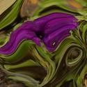 Abstraktní květ
