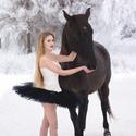 Balet na sněhu :)