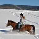 Projížďka ve sněhu