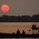 Cambodia sunset . . .