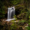Jarní vodopád