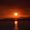 Omiš-západ slunce