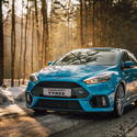 Ford Focus RS Zima