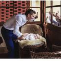 Otcovské povinnosti před obřadem..