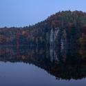 Barvy podzimu v Českém ráji - stmívání u Věžáku