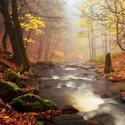 ...podzimní říčka