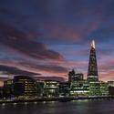 Londýn po západu slunce