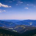 Panorama z Krkonoš