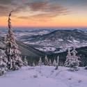 Zimní krajina...