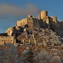 Spišský hrad v objatí námrazy