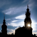 Dresden za soumraku