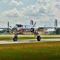 B-25 Mitchell na Aviatické pouti