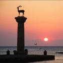 Rhodos přístav Mandraki
