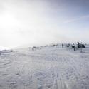 Zimní přechod Krkonoš