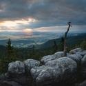 Ranní pohled na Javoří Hory
