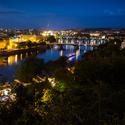 Noční Vltava