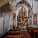 Hradní kaple hradu Bouzov