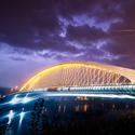 Záblesk za Trojským mostem