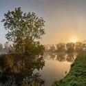 Ráno u rybníků