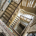Urbexové schodiště