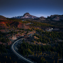 Cesta mezi sopkami