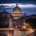 Večerní procházka v Římě