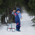 Zima je v lese :)