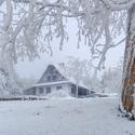 Chalupa v zimním království