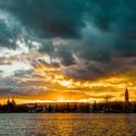 Západ slunce nad Duchcovem
