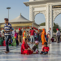 Sikhové na slavnosti