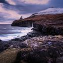 Podvečer na Faerských ostrovech