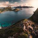 Západ slunce nad Lofoty