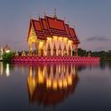 Lotosový chrám  Thajsko