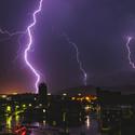 Búrkovo nad mestom...