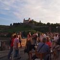 Podvečer ve Würzburgu